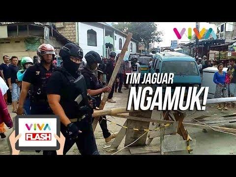 Jalan Ditutup Preman, Tim Jaguar Ngamuk!