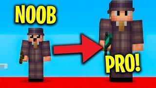 Minecraft: JAK NOOB STAŁ SIĘ PRO?! *BEDWARS*