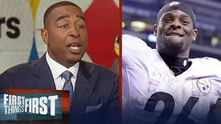 Cris Carter on Le'Veon Bell's decision to not report to the Steelers | NFL | FIRST THINGS FIRST