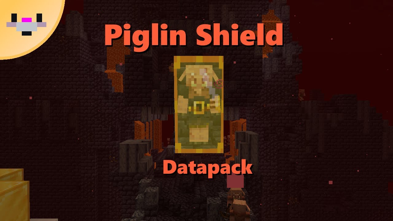 Piglin Shield Datapack (1.16.2+) | Stronger Brutes and new item