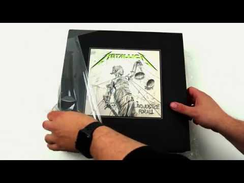 Metallica And Justice For All REMASTERED Vinyl Boxed Set - Unboxing