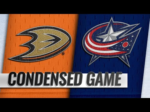 12/15/18 Condensed Game: Ducks @ Blue Jackets