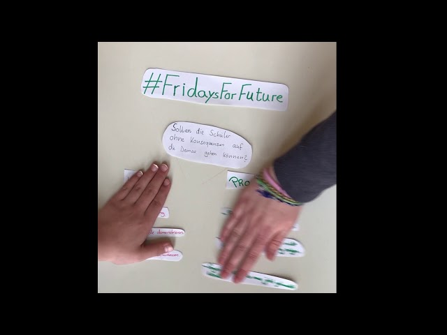 Girls'Day 2019 bei der Grünen-Fraktion Berlin: Fridays For Future