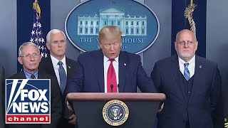 President Trump gives an update on coronavirus