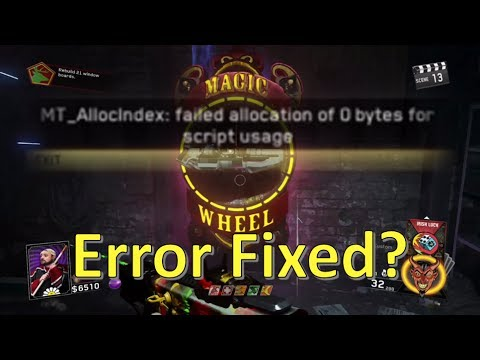 Magic Wheel Error FIXED!?! Only One Way To See... Infinite Warfare Zombies