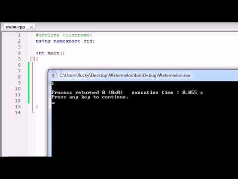 Buckys C++ Programming Tutorials - 21 - Assignment and Increment Operators