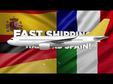 ✈️✈️✈️ FASTEST SHIPPING to GERMANY, FRANCE, ITALY & SPAIN in 2020 | 7-10 DAYS! | PRIVATE LINE ✈️✈️✈️