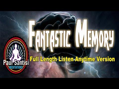 Full Length Fantastic Memory Guided Meditation 1000's Affirmations 3D Sound Theta Paul Santisi