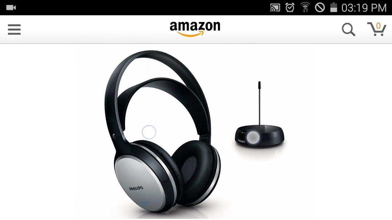 Philips SHC5100 Cuffie Hi-Fi FM Wireless - YouTube 61c3aa16d767