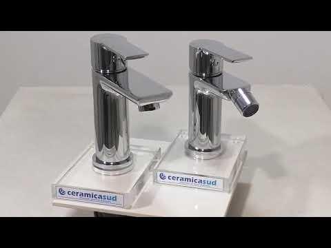 Coppia miscelatori lavabo e bidet Mix Rubinetteria Seven Serie Shower