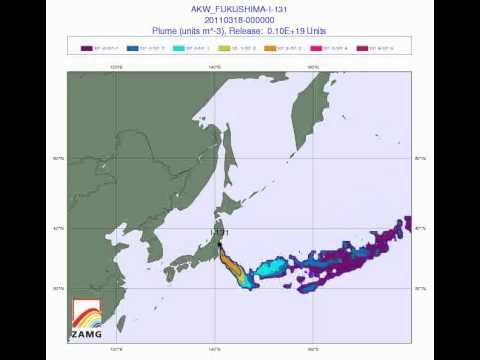 March 20 Alert: Tokyo Radiation Forecast