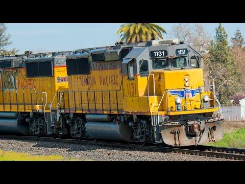 Trains In Roseville CA Pt. 1