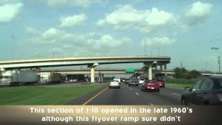 I-10 East - Swamp to City: New Orleans, LA
