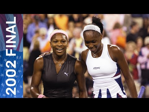 Serena Williams Vs Venus Williams In A Dazzling Final! | US Open 2002 Final