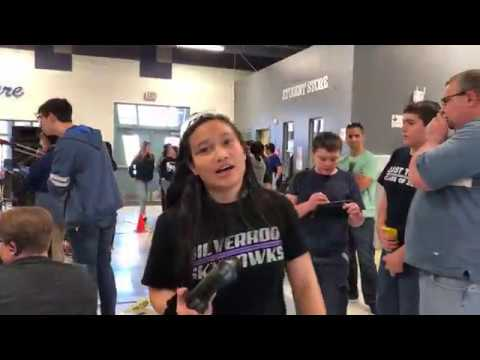 Lei's Team Robotics competition at Lied Middle School Las Vegas