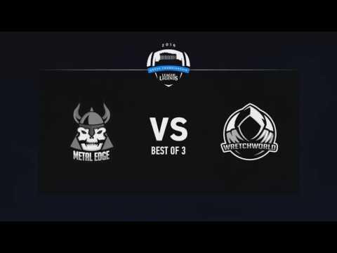 League of Legends Greek Championship Season 1 - Week 2 | Metal Edge Gaming vs. WretchWorld