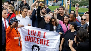 Video: Lula da Silva en libertad