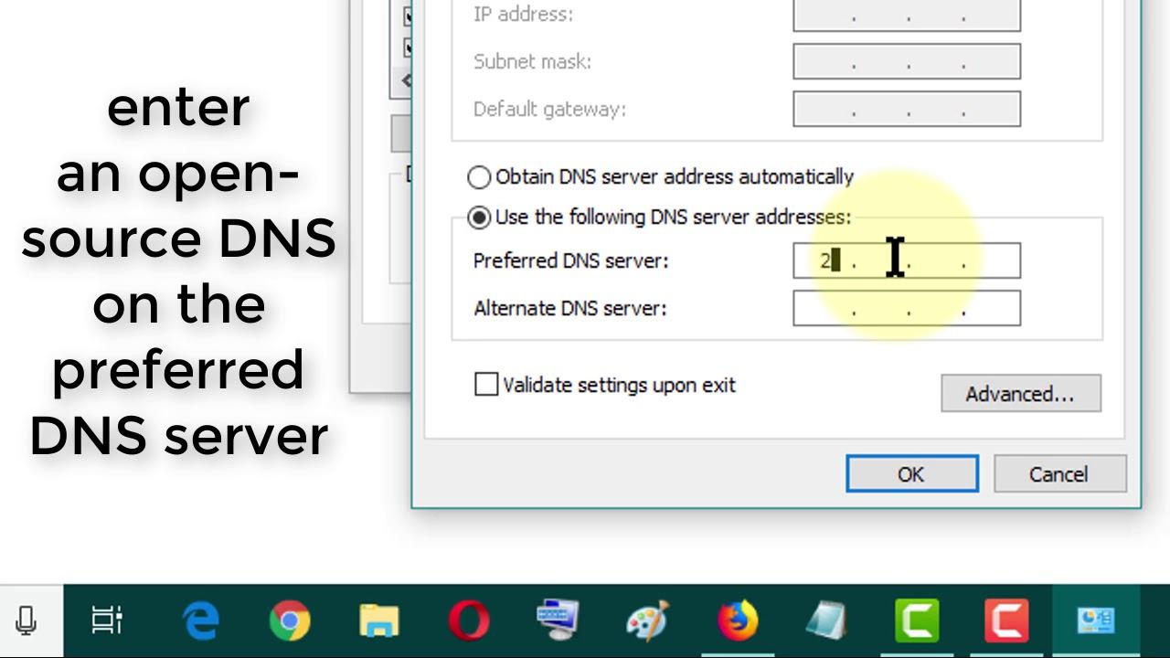 Fix - DNS Server Isn't Responding in Windows PC