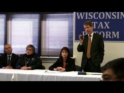 Raw: Wisconsin tax reform roundtable - full meeting