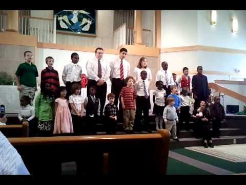 Three Angels school and church Christmas program