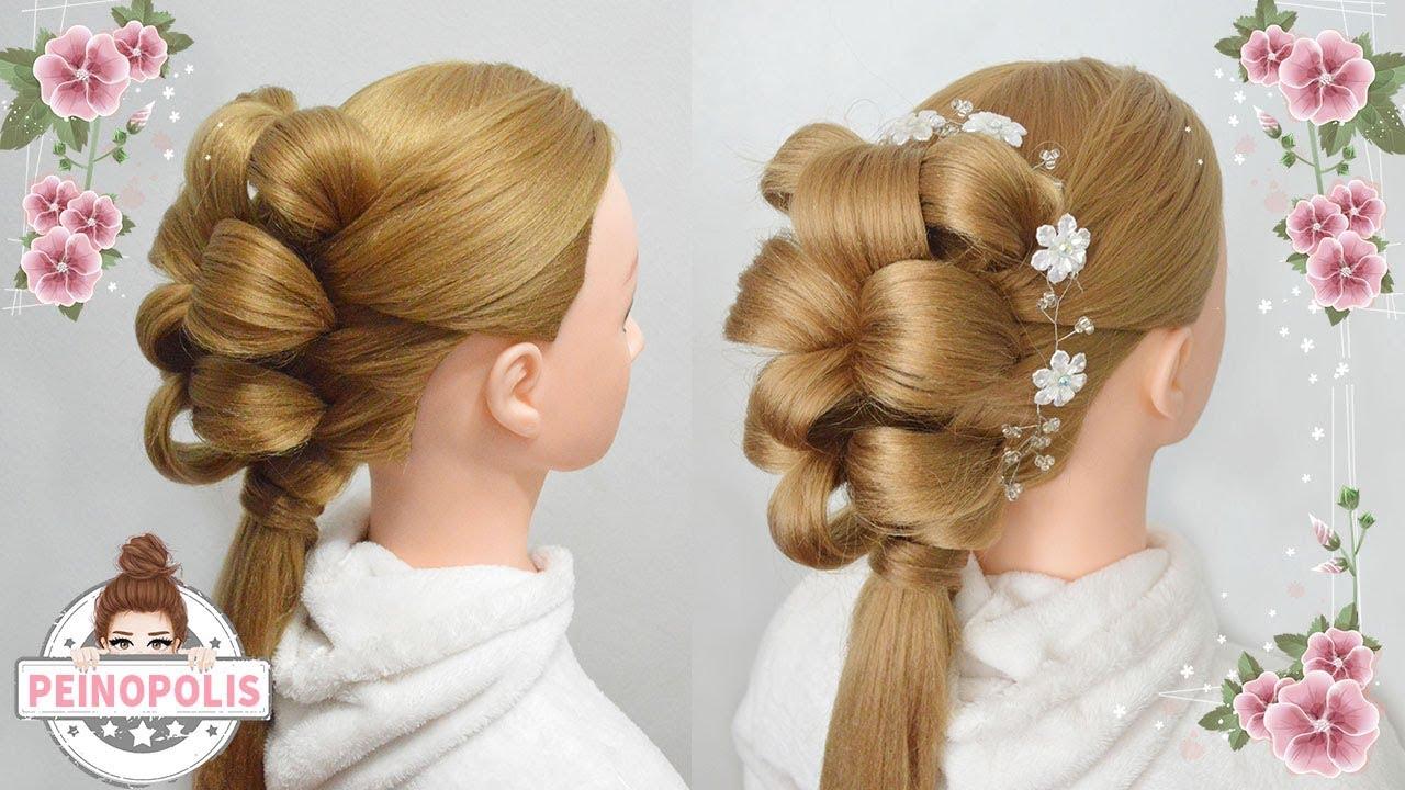 Peinados para fiesta con tiara recogidos faciles y for Recogidos bonitos y sencillos