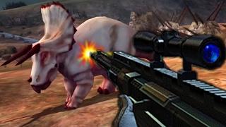 HERBIVOROUS Dinosaurs Vs SHOTGUN - Dino Hunter Deadly Shores
