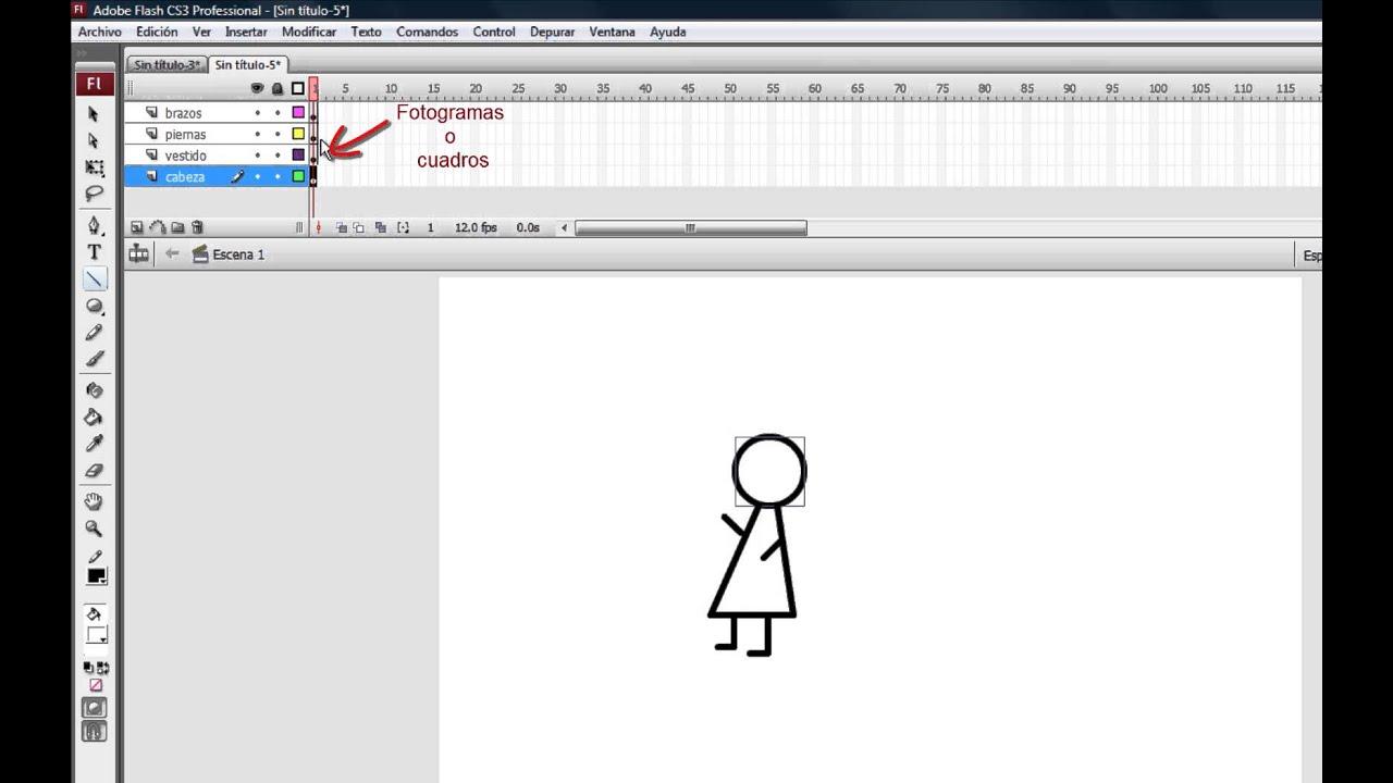 Crea animación fotograma a fotograma - YouTube