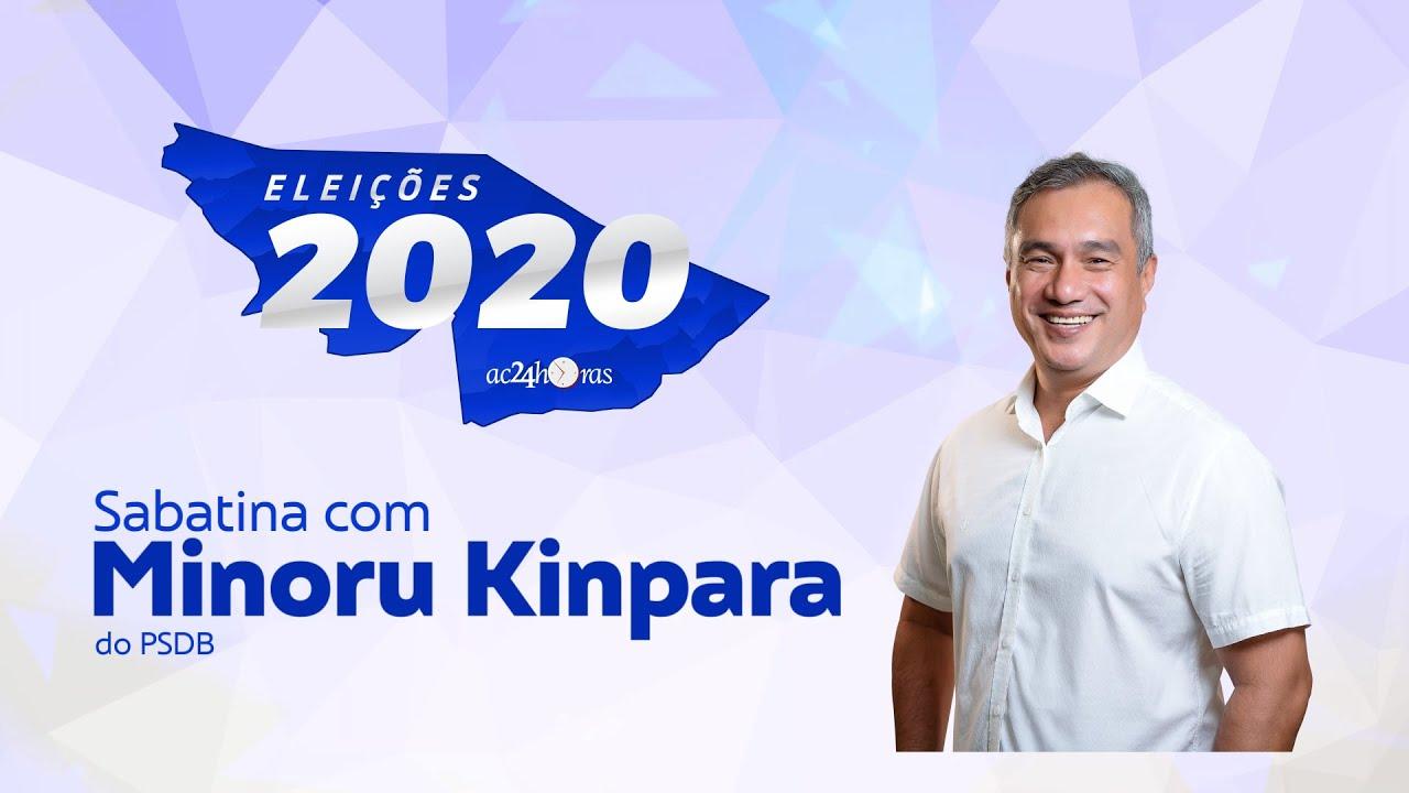 ELEIÇÕES 2020 I Sabatina com Minoru Kinpara (PSDB)