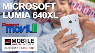 Microsoft Lumia 640XL conócelo en el Mobile World Congress 2015