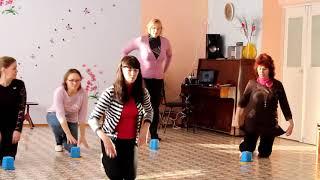 """""""Танец с ведерками"""" муз. и сл. А.Бобровой, вокал Ю.Селивёрстовой"""