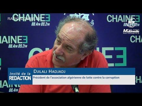 Djilali Hadjadj Président de l'association nationale de lutte contre la corruption