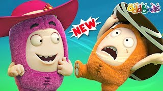 Oddbods | NEW | Hats Off | Funny Cartoons For Kids