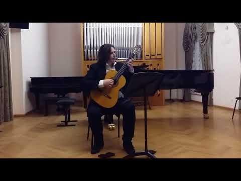 """Vladimir Gapontsev Plays """"Snehg"""" (Snow) By Gene Pritsker - Russian Premiere."""