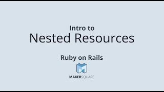 Rails Nested Resources