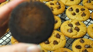 Paleo Cookies In The Woodstove, Keep Away From The Firebox!