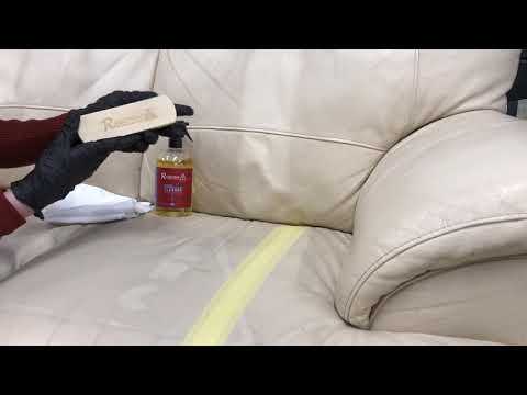 How To Clean A Cream Leather Sofa