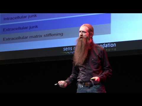 Seeking immortality: Aubrey de Grey at TEDxSalford