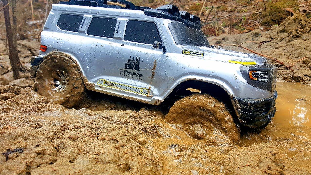 Радиоуправляемые машины в грязи 4х4 — часть 1