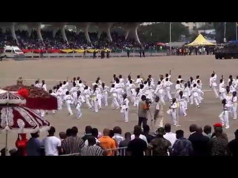 Ghana Independence Parade Accra, 6th March 2016