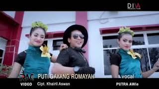 Cover images Putra AWie - Puti Dayang Romayah - lagu minang terbaru