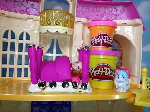 Play Doh   Sofia the First How to Make a Luxury Toys Video
