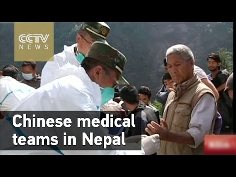 Chinese medical teams carry out humanitarian missions in Nepal