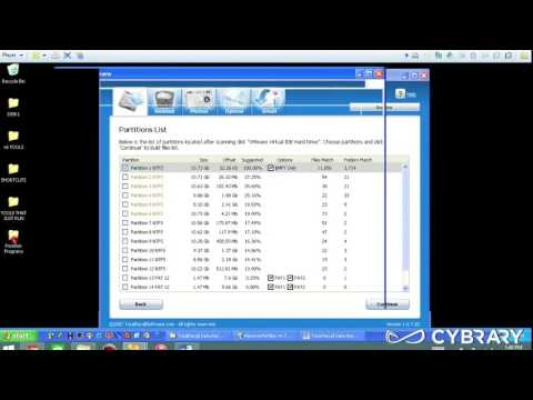 CHFI Module 02 Part 5   Investigative Process Total Recall Data Recovery Software Lab from Cybrary I