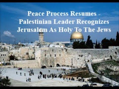 """Mideast Peace Talks Resume: Abbas Says, """"Jerusalem Holy To Jews"""""""