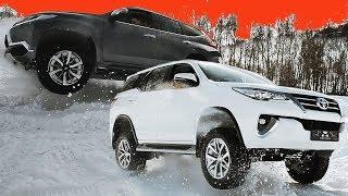 Toyota Fortuner vs Mitsubishi Pajero Sport // Cliconcar