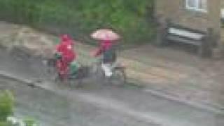 Copenhagen Rainy Day Bicycles