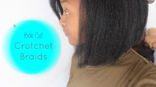Bob Cut Crochet Braids