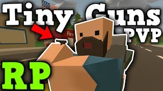 Tiny Guns PVP - so small i can hardly see it ... - Unturned 3.0