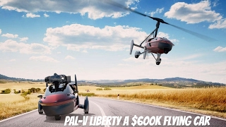 Pal-v liberty world's first production road and air legal flying car on sale   prices, specs