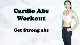 Cardio Abs workout _ 4 weeks fitness challenge ~ Ali